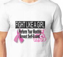 Fight Like A Girl - Version 2 Unisex T-Shirt