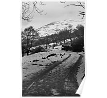 Snow in the Lake District Poster