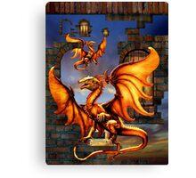 Defeat Of A Kingdom Canvas Print
