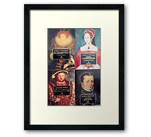 history books of England Framed Print