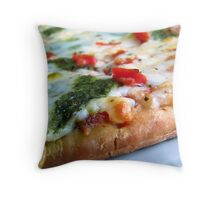 piece of pizza) Throw Pillow