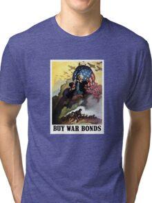 Uncle Sam - Buy War Bonds  Tri-blend T-Shirt