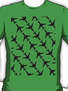 Flight Suit (Black Silhouette)  T-Shirt
