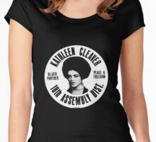 KATHLEEN CLEAVER (18TH ASSEMBLY DIST) Women's Fitted Scoop T-Shirt