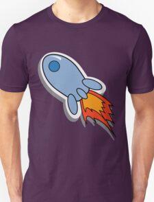 Cool cartoon space rocket T-Shirt
