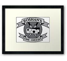 Roshan's Fine Cheeses Framed Print