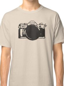 Canon AE-1 black and White Classic T-Shirt