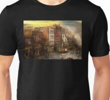 Fireman - Washington DC - Fire at Bedell's Bedding 1915 Unisex T-Shirt