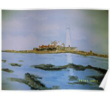 St Mary's Island Poster