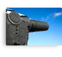 The Guns of Redoubt Canvas Print