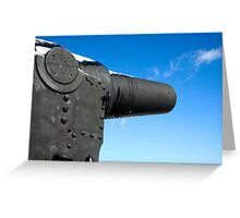 The Guns of Redoubt Greeting Card