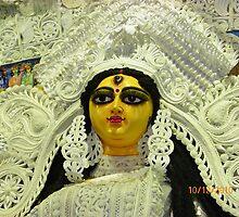 Durga Puja Pandal Salt Lake, BJ Block by Mahesh Kumar