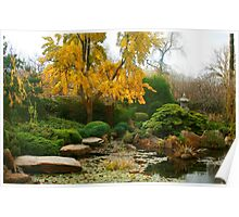 Japanese Garden Adelaide Poster