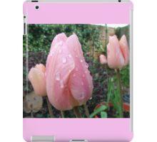 peach tulip iPad Case/Skin