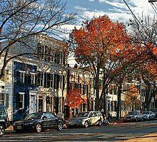 Alexandria Street Scene, Alexandria, Virginia by Larry Darnell
