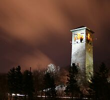 Night at the Dingle Tower by Mark Theriault