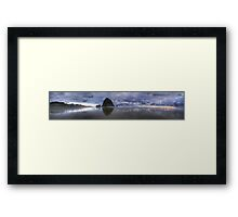 Canon Beach in HDR Framed Print