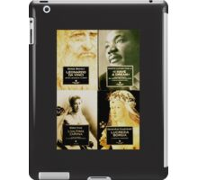 very famous historical figures iPad Case/Skin
