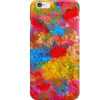 Blooming Meadow. Vibrant Colours Pattern iPhone Case/Skin