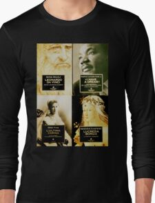 very famous historical figures Long Sleeve T-Shirt