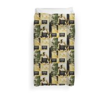 very famous historical figures Duvet Cover