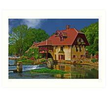 Le Moulin de Fourges Art Print