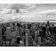 New York Skyline by DamianBrandon