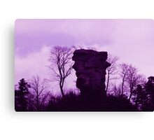 Purple Anebos - JUSTART © Canvas Print