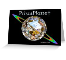 Prism Planet Greeting Card