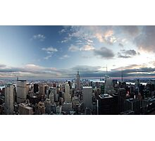 Top of the Rock vrs the Empire State Photographic Print
