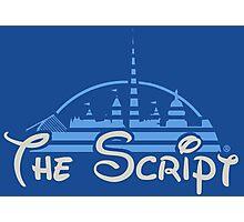 Disney Crossover; The Script Photographic Print