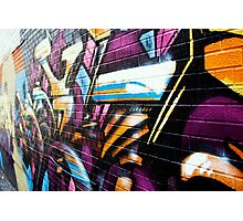 graffiti central Photographic Print