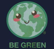 BE GREEN Kids Tee