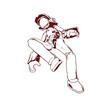 Canti - Red Photographic Print