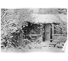 Drafty House in the Snow Poster