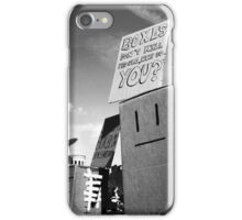 Protest - Life of the Boxkind iPhone Case/Skin
