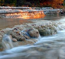 Evening on Bull Creek by Scott Chambless