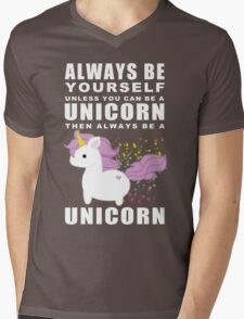 Always - Unicorn Mens V-Neck T-Shirt