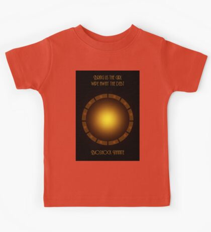 Bioshock infinite eye-bird Kids Tee