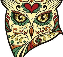 Calavera Owl by viSion Design
