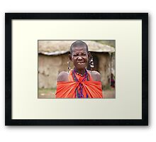 Masai Mara Beauty Framed Print