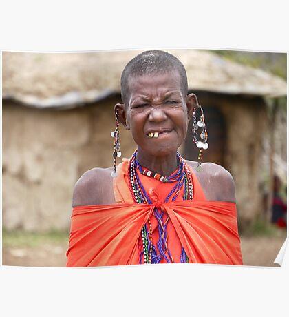 Masai Mara Beauty Poster