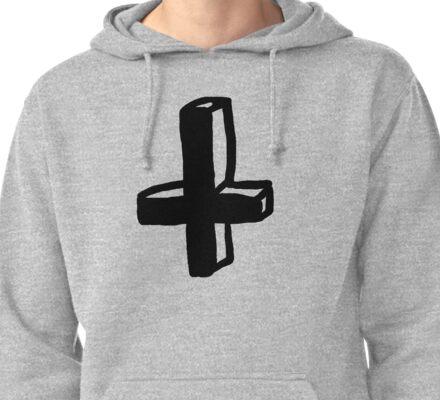 Jesus's handstand (or Murdoc's cross) T-Shirt