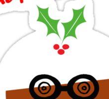 Puddin' The Fun Into Christmas Sticker