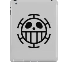 one piece trafalgar law jolly roger anime manga shirt iPad Case/Skin