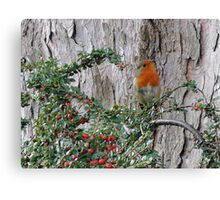 We Got Red Here :)  Canvas Print