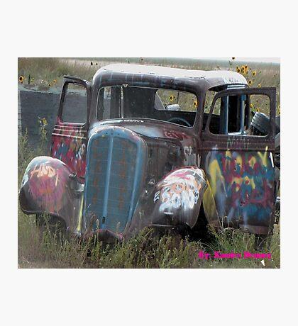Cadillac Ranch  Photographic Print