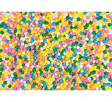 Candy Sprinkles Background Photographic Print