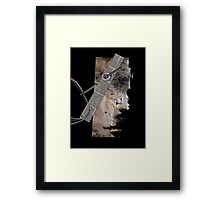 I in the needle Framed Print