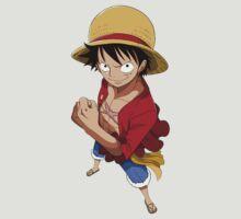 one piece straw hat monkey d luffy anime manga shirt by ToDum2Lov3